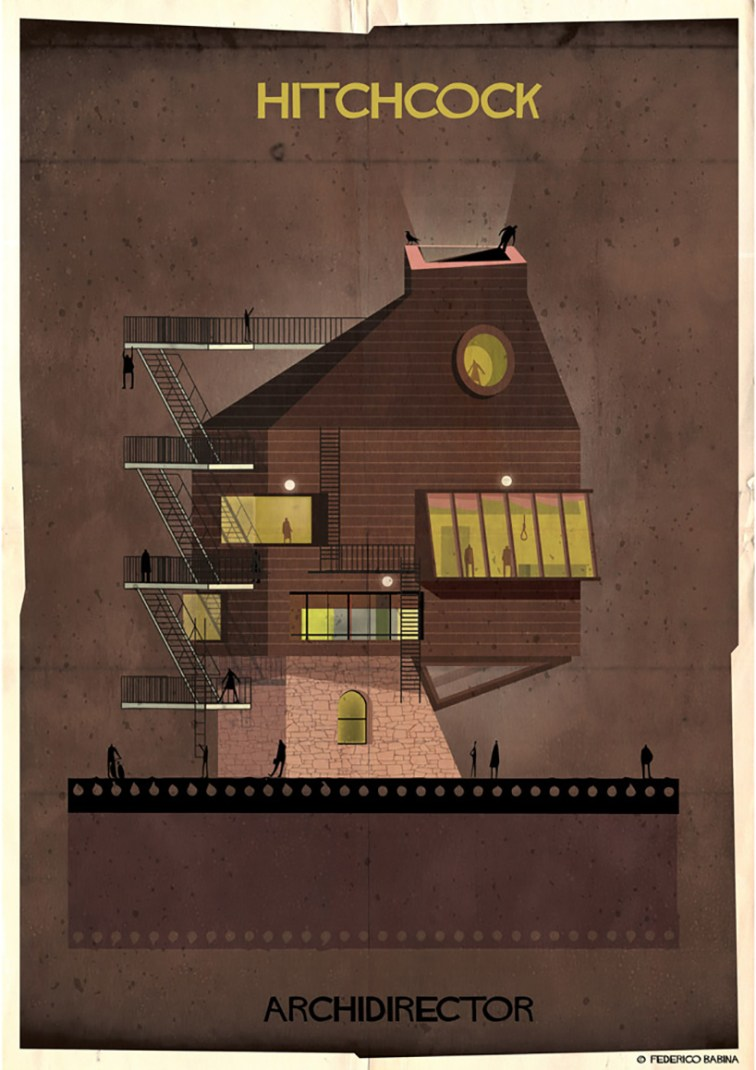 federico-babina-archidirector-illustration-designboom-25 - Hitchcock