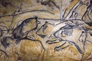grotta-chauvet francia graffiti 36 mila anni fa