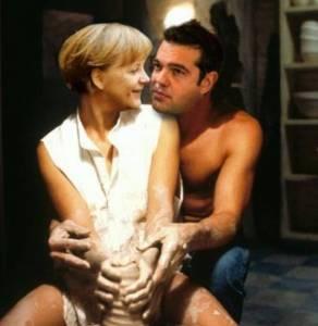 Il premier greco Tsipras e Angela Merkel visti da Dagospia