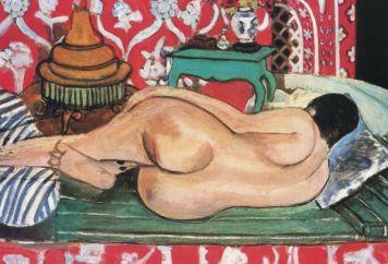 H. Matisse: nudo disteso di schiena