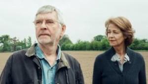 Tom Courtenay e Charlotte Rampling nel film 45 anni