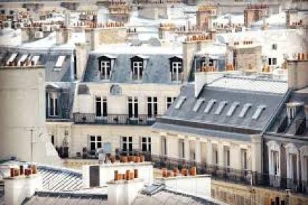 Panorama dei teti di Parigi