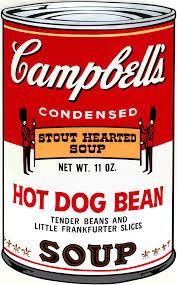 La famosa zuppa dipinta da Warhol