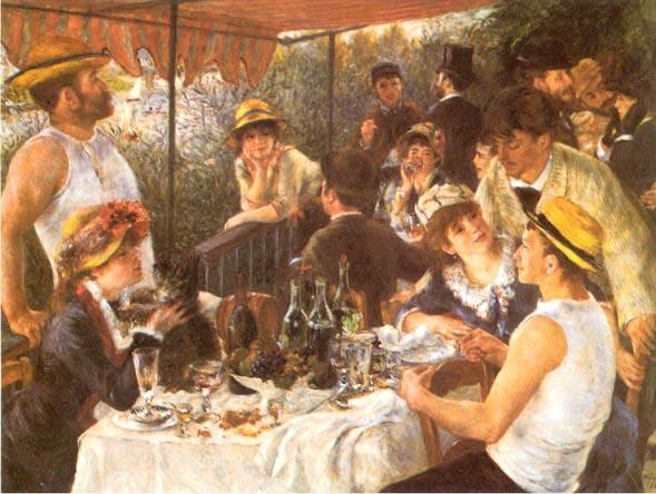 Renoir: La colazione dei canottieri (1890-91)