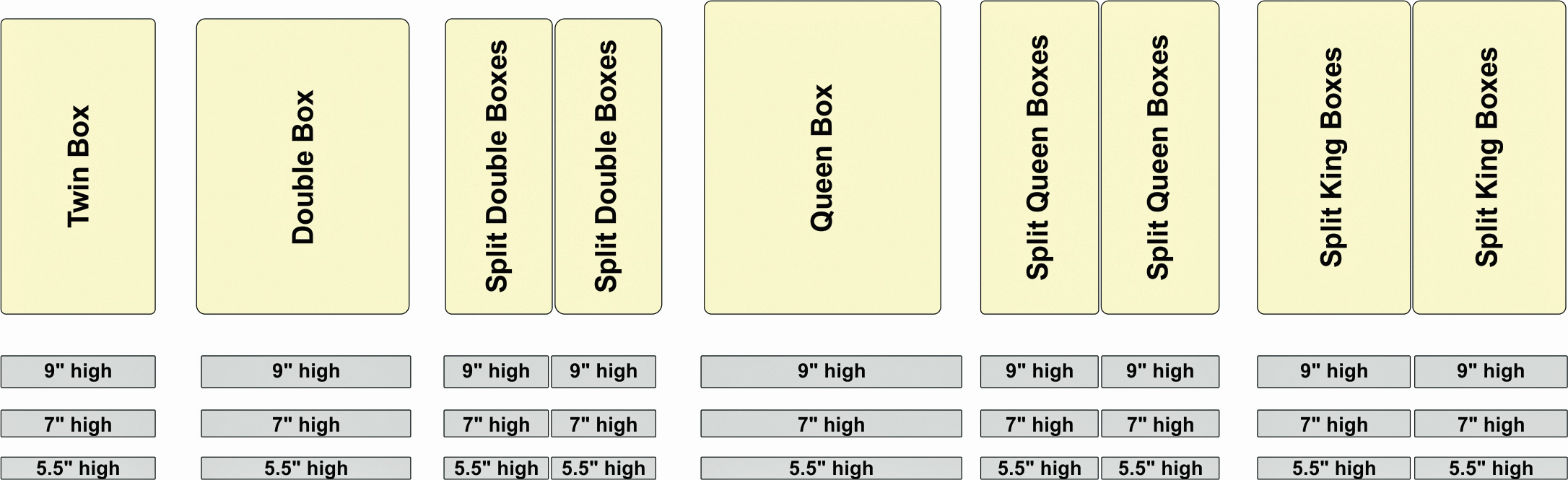 Mattress Sizes Guide Nine Clouds
