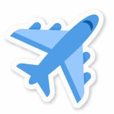 Logo avion livraison internationale