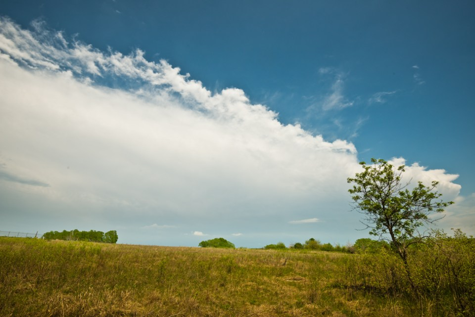 Thunderstorm's Leading Edge
