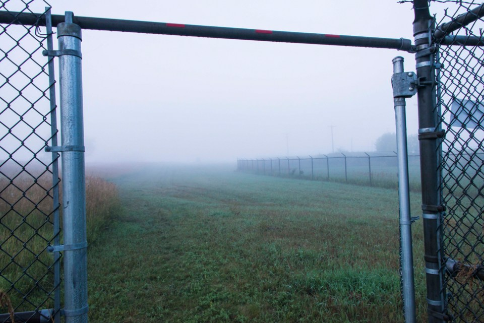 Foggy August Morning at the Gate