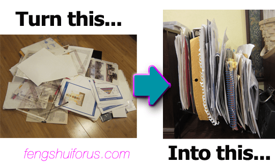 One-Trick-to-Control-Paper-Messes-before-after
