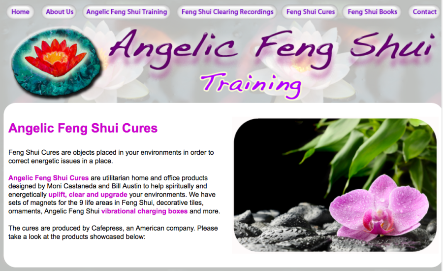 angelic feng shui vibrational cures