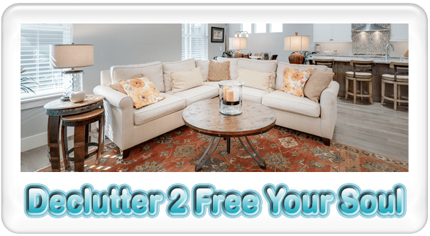 declutter 2 to free your soul