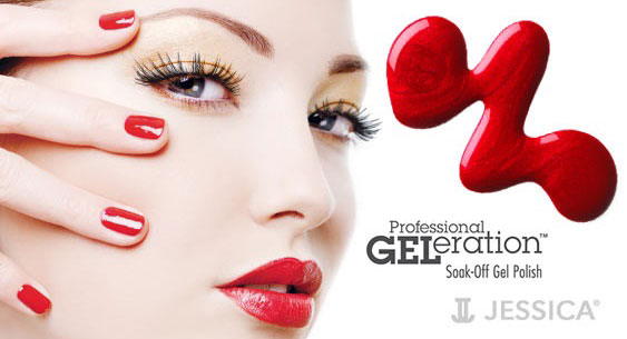 GELeration nail treatments from nineteen hair and beauty Farnham