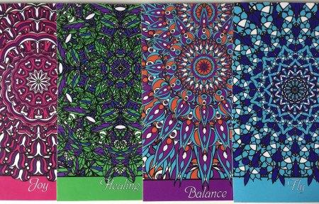 Joy - Unlimited Freedom card deck by NineTomatoes
