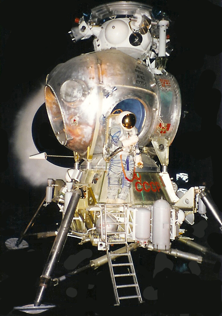 Lunova Korably Lk Or Lk T2k Spacecraft