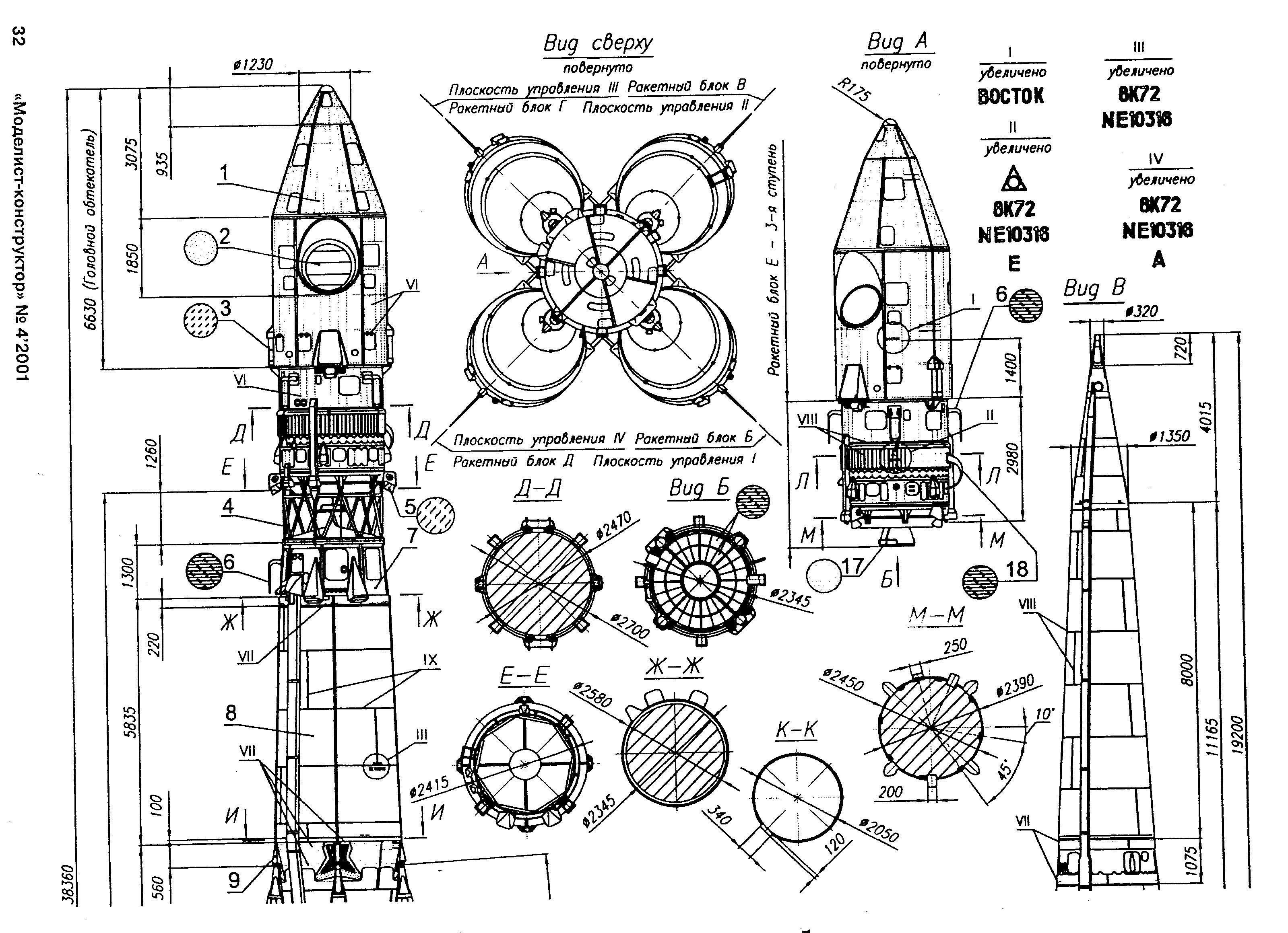 Soyuz Rocket Diagram