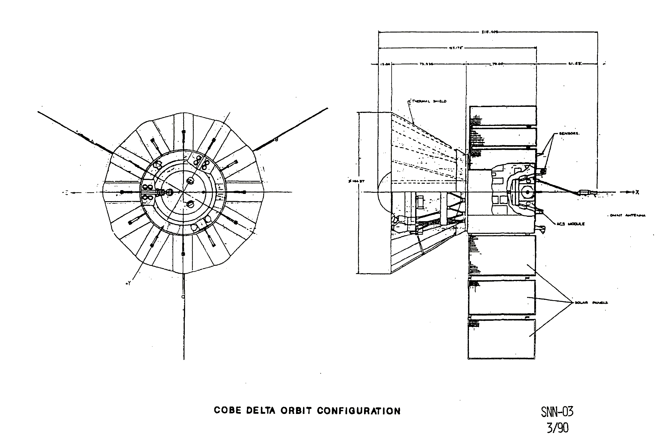 Diagrams Of The Spacecraft Explorer 6