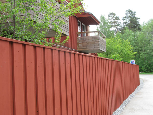 bullerstaket, noise protection fence