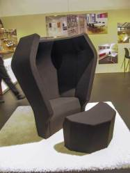 This kind of chair, where you hid einsid eit, was all over the place.
