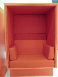 Hiding chair.