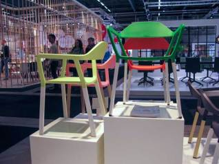 More colorful chairs.