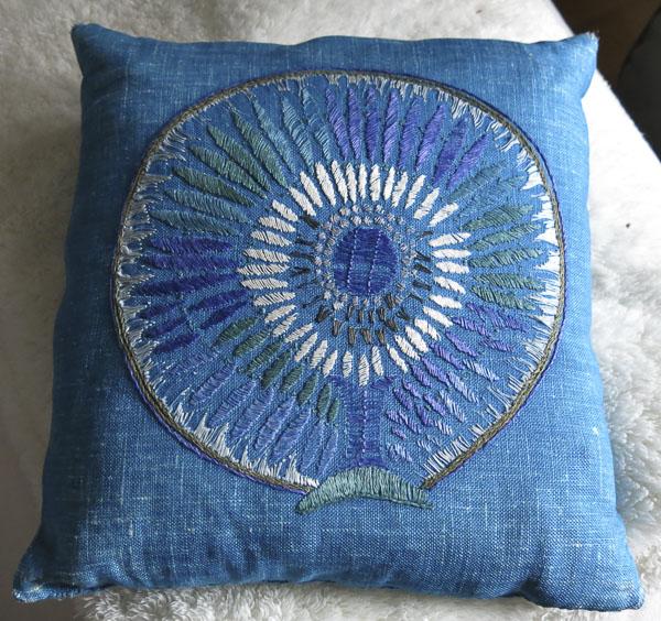 pillowcase, embroidery
