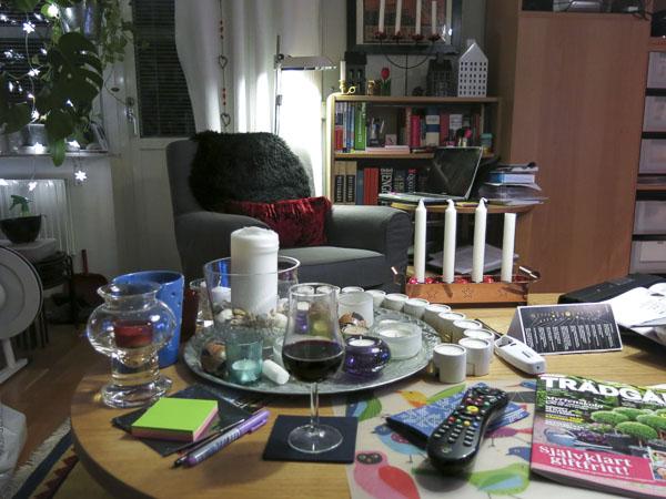 vardagsrum, ljusbricka, livingroom, candles