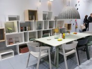 Muuto shelves and table and chairs