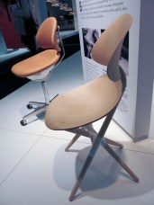 "Bruno Mathsson chair ""Saga"". A bit odd form of it. And not all that comfortable in my opinion. The seat is a bit too short. A prototype-"