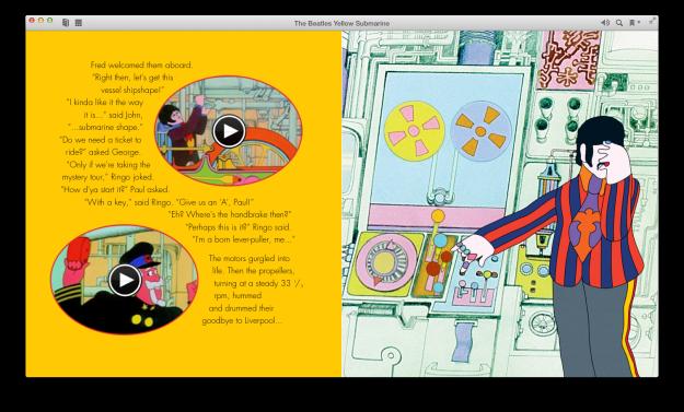 ebook, yellow submarine