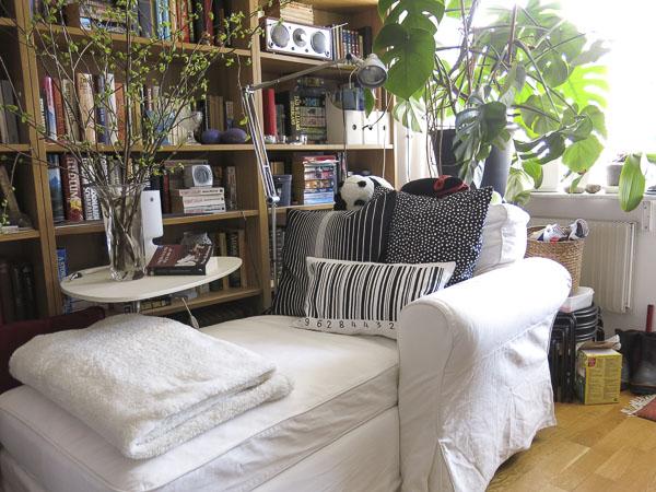 chaiselongue, livingroom