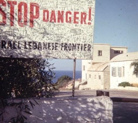 Lebanese border.