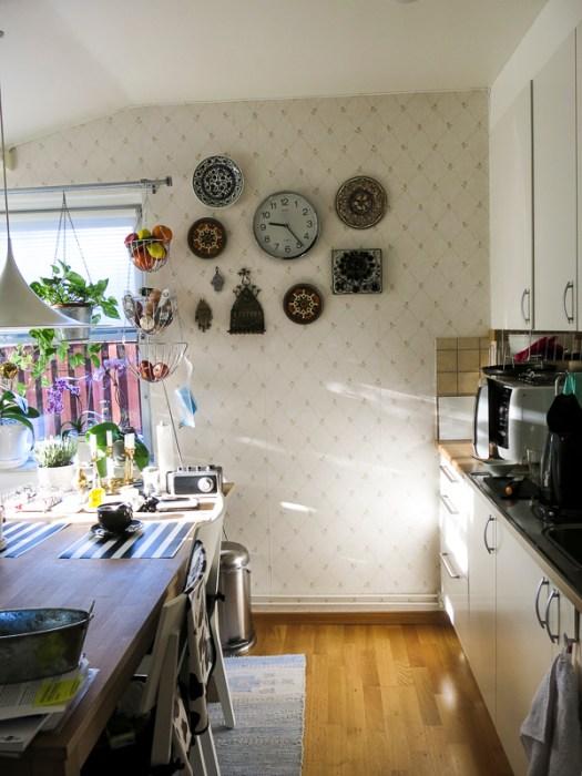 kitchenwall, clock-wall