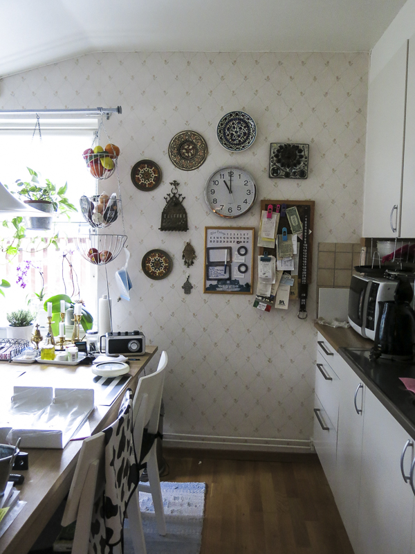 kitchenwall, clock-wall