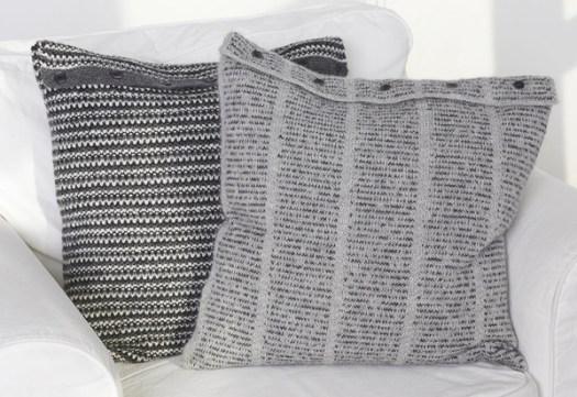 pillow, pillowcase, knitte