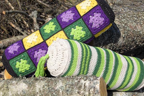 pillows, pillowcases, crocheted