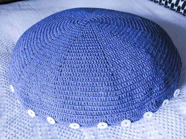 pillowcase, crocheting