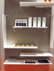 Shelves with unusual fixtures