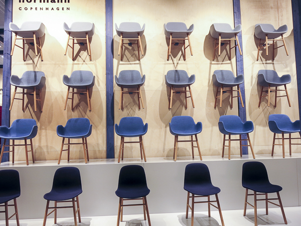 Chairs from Normann Copenhagen