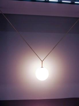 Ceiling lamp.