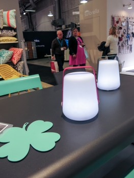 Portable lamps.