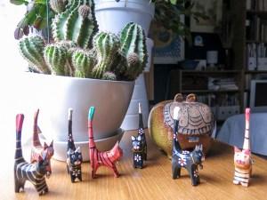 jungleanimals, plants