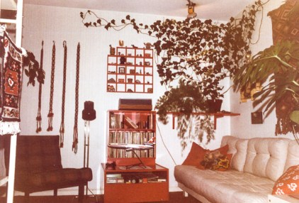 The daybed corner.