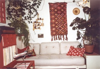 I loved that daybed. Unfortunately it broke when I once stepped onto it to reach something on the wall…