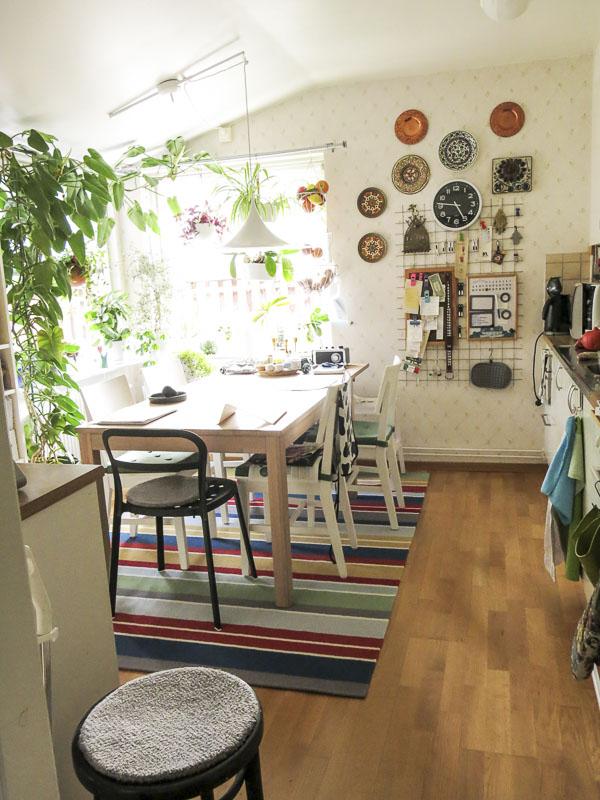 kitchen, carpet