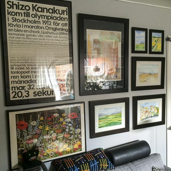 livingroom, picturewall