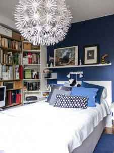 bluebedroom, bedroom