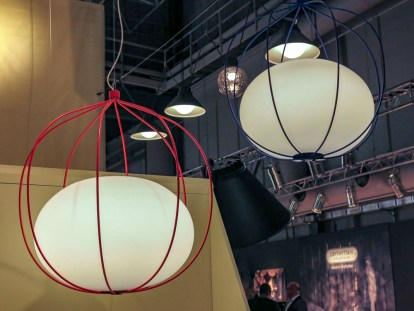 Ceiling lamps.