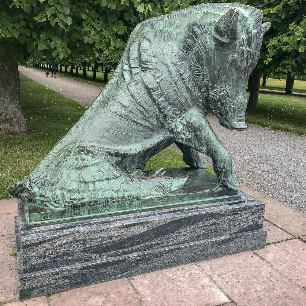wildboard, ulriksdalpalacepark, sculpture