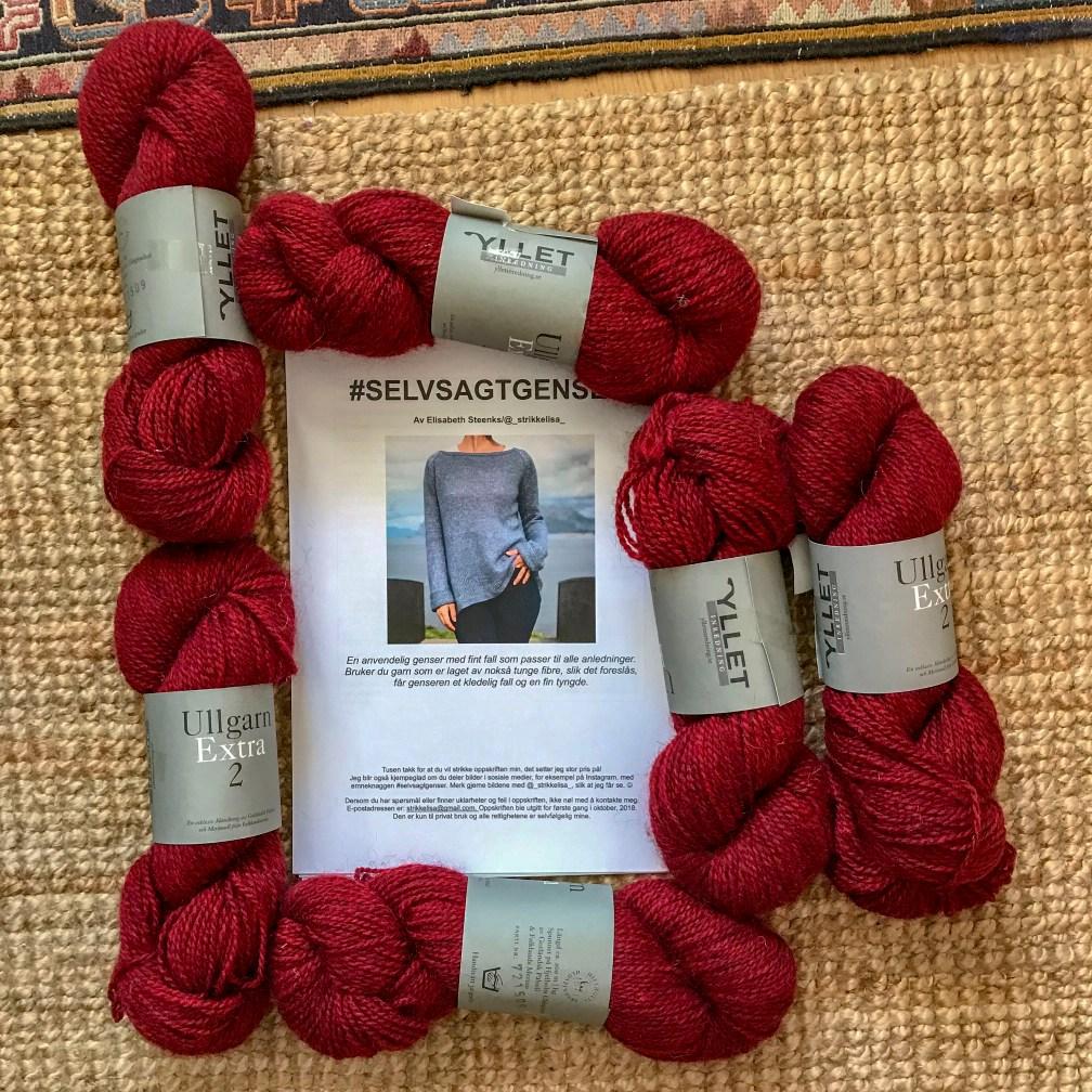 yarn, pattern