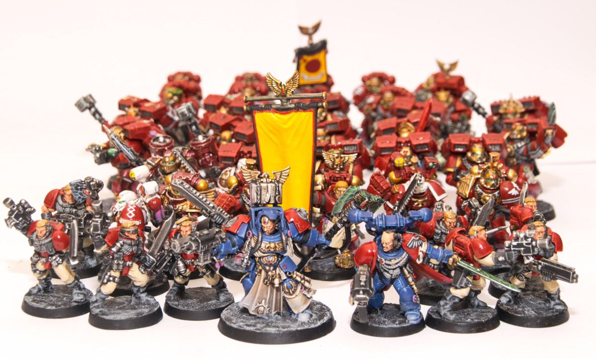 Armies on Parade - Blood Angels